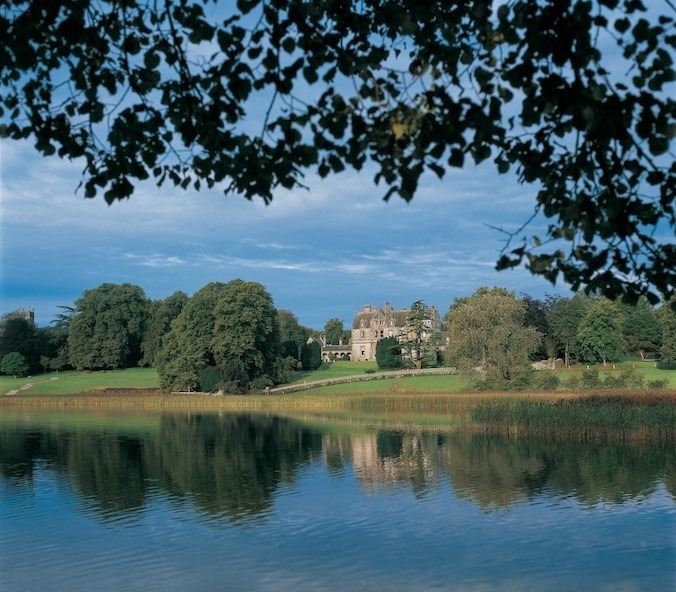 Castle Leslie from across the Lake-web - Monaghan Business